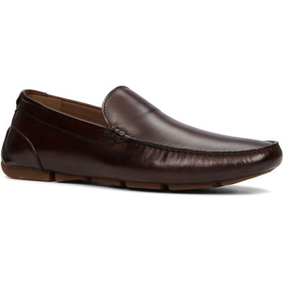 Aldo Giangrande slip on loafers, Dark Brown