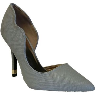 Qupid Mixi court shoe, Grey
