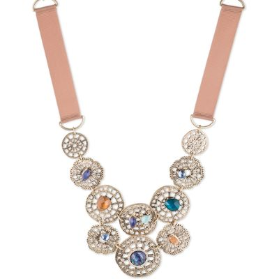 LONNA & LILLY Front Long Necklace, Gold