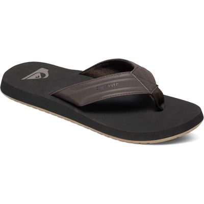 Quiksilver Mens Monkey Wrench Sandal, Brown