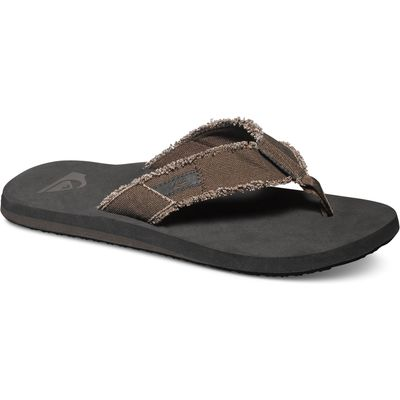 Quiksilver Mens Monkey Abyss Sandal, Brown