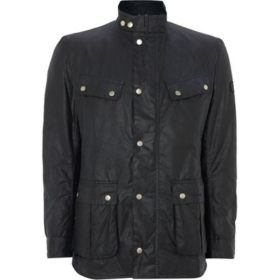 Men's Barbour Wax International Duke Jacket, Navy