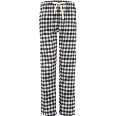 Men's Howick Gingham check flannel pant, Blue
