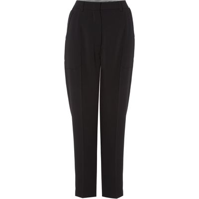 Sportmax Code relaxed fit trouser with pocket detail, Black