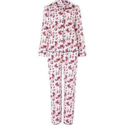 Cyberjammies Stephanie floral pyjama set, Pink