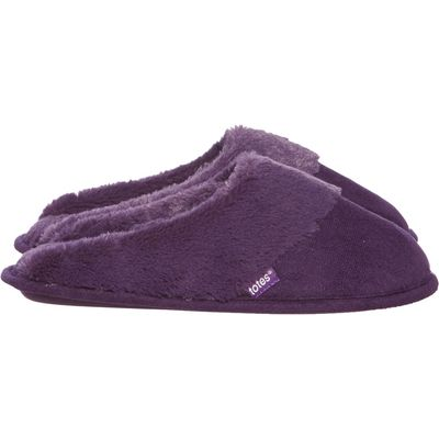 Totes Mule slipper, Purple