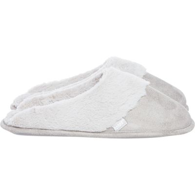 Totes Mule slipper, Grey