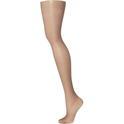 Charnos Elegance 10 denier sheer tights, Barely Black