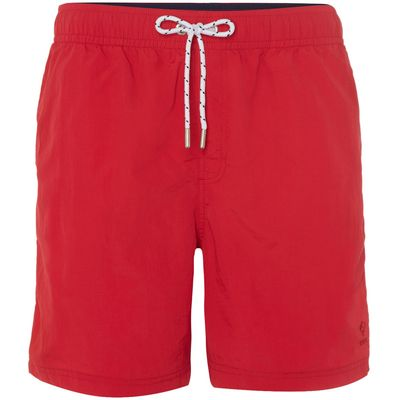 Men's Howick Plain Swim Shorts, Red