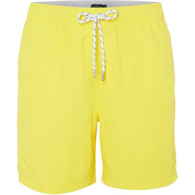 Men's Howick Plain Swim Shorts, Yellow