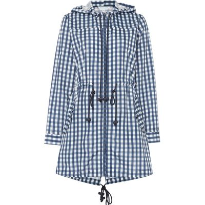 Dickins & Jones Isla Printed Gingham Pac A Mac, Check