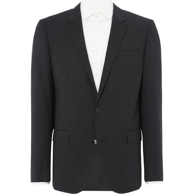 Men's Hugo Huge Genius Slim Fit Suit Jacket, Dark Grey