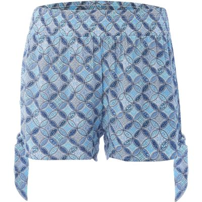 Dickins & Jones Tile print beach short, Turquoise
