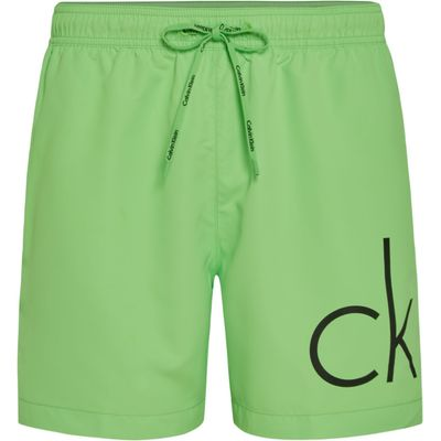 Men's Calvin Klein CK Logo Swim Short, Green