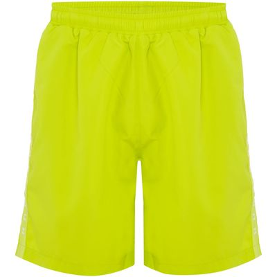 Men's Hugo Boss Seabream Side Logo Swim Shorts, Yellow