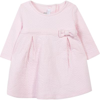 Absorba Baby Girls Bow Dress, Pink