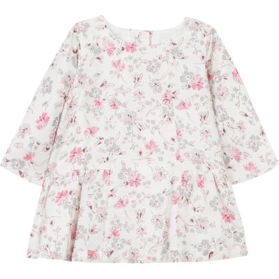 Absorba Baby Girls Floral Dress, White
