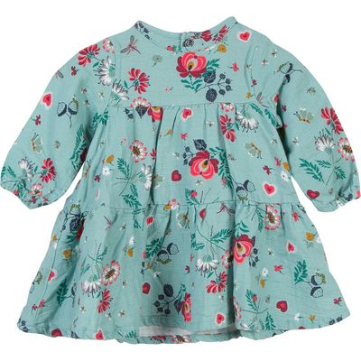 Catimini Baby Girls Floral Print Dress, Green