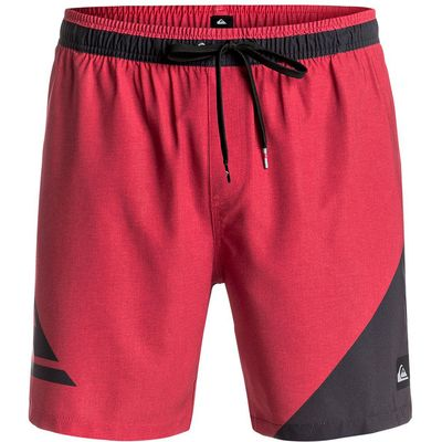 Men's Quiksilver New Wave 17 Swim Short, Red