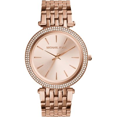 Michael Kors Mk3192 ladies bracelet watch, Rose Gold