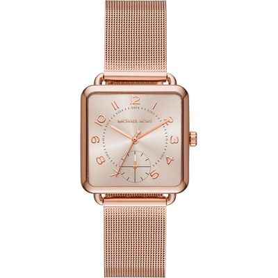 Michael Kors MK3664 Ladies Brenner Watch, Rose Gold