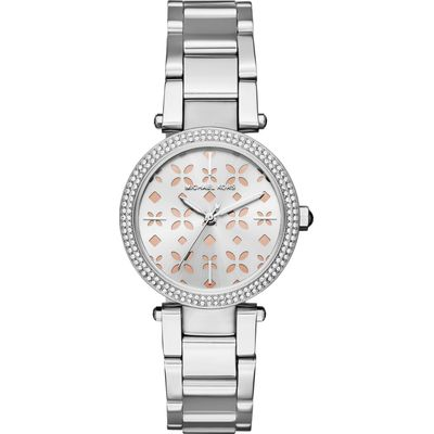 Michael Kors MK6483 ladies bracelet watch, Silver