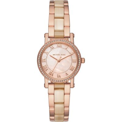 Michael Kors MK3700 Ladies Petite Norie Watch, Rose Gold