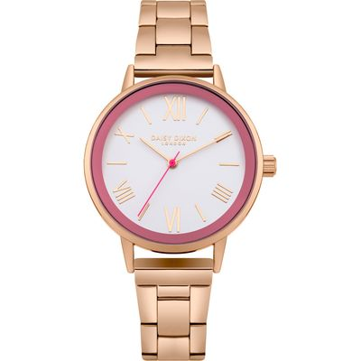 Daisy Dixon Emmie watch, Rose Gold