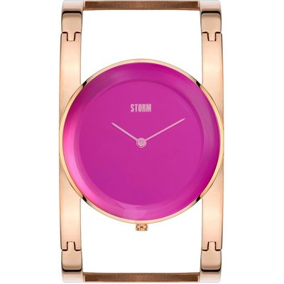 Storm Amiah rose gold watch, Rose Gold