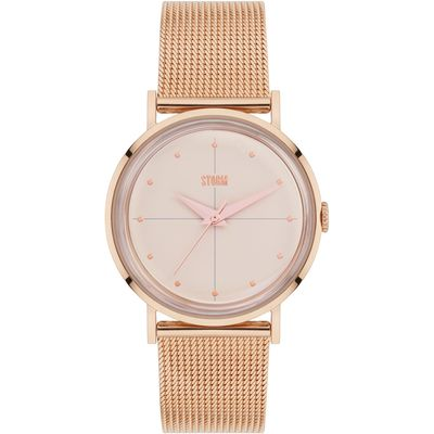 Storm Chelsi rose gold watch, Rose Gold