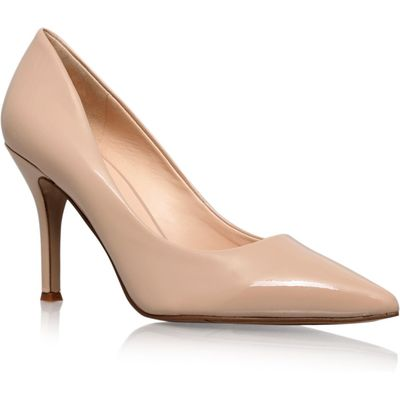 Nine West Flax court shoes, Nude