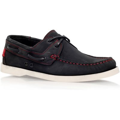 KG Sorrento lace up boat shoe, Black