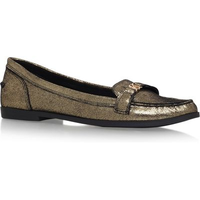 KG Kassidy flat slip on loafers, Gold