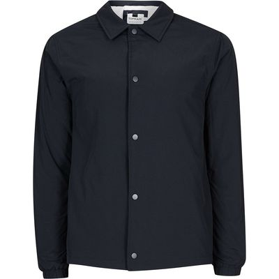 Men's Topman Navy Coach Jacket, Blue