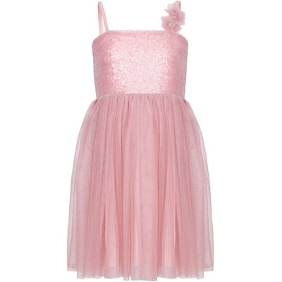 Yumi Girls Sequin Corsage Occasion Dress, Pink