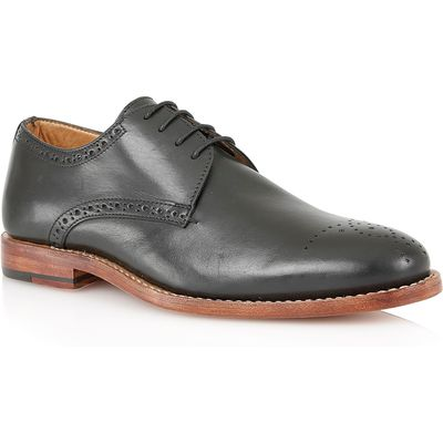 Lotus Jeremiah Lace Up Formal Oxford Shoes, Black