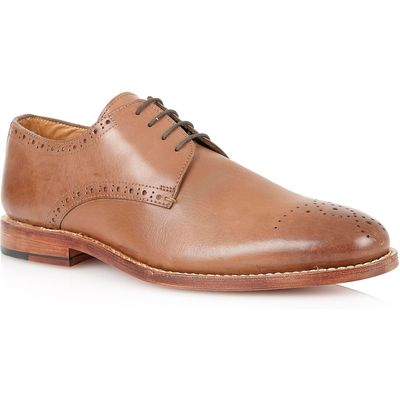 Lotus Jeremiah Lace Up Formal Oxford Shoes, Brown