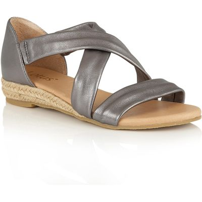 Lotus Arielle strappy sandals, Pewter