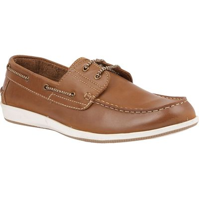 Lotus Since 1759 Lawson boat shoes, Chestnut