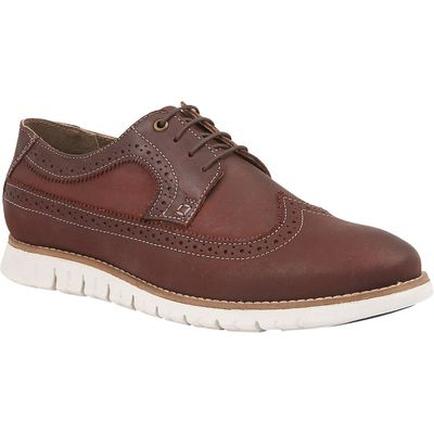 Lotus Since 1759 Holloway lace up brogues, Aubergine