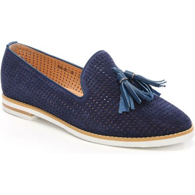 Daniel Montego perforated loafers, Blue