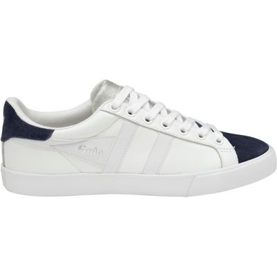 Jacobson Orchid Glimmer lace up trainers, White