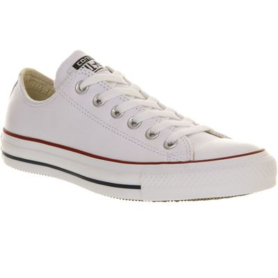 5053126115313 | Converse Converse all star low leather trainers  White Store