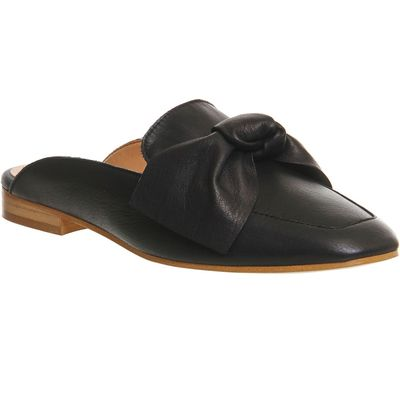 Office Dance bow mules, Black