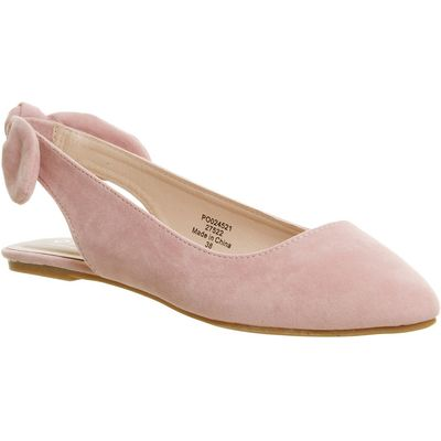 Office Fairytale slingback bow points, Pink