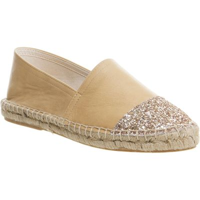 Office Lucky espadrilles, Nude