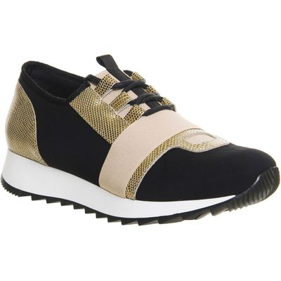 Office Action neoprene runners, Black