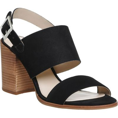 Office Maddox Two Part Block Heels, Black