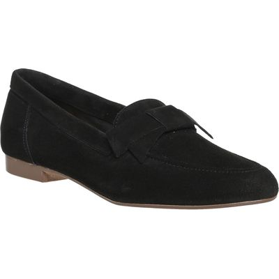 Office Fairy Floss Bow Loafers, Black