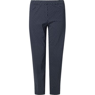 James Lakeland Long Patterened Trousers, Blue